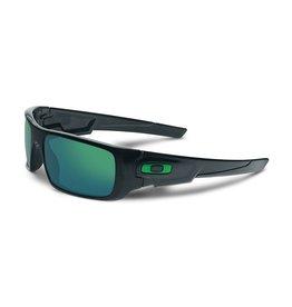 Oakley Oakley Crankshaft Black Ink Frame Jade Iridium Lens Sunglasses OO9239-02