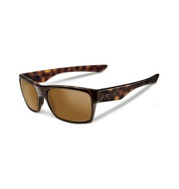 Oakley Oakley Polarized Twoface Tortoise Frame Tungsten Iridium Polarized Lens Sunglasses OO9189-17