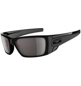Nixon Oakley Fuel Cell Polished Black Frame Warm Grey Lens Sunglasses OO9096-01
