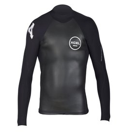 XCEL Xcel Infiniti Smoothskin Wetsuit Top 2mm Black XLarge Mens Blemish