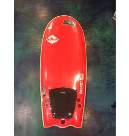 "Surf Accessories Softech Rocket Fuel 52"" Guava Red Softboard Surfboard"