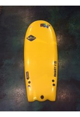 "FCS Softech Rocket Attack 52"" Yellow Softboard Surfboard"