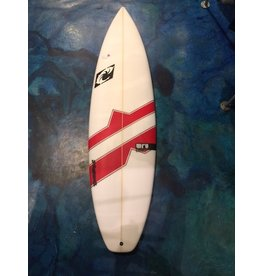 WRV WRV Slayer 6'0 x 19.5 x 2.5 31.12L Futures Fins Thruster Surfboard