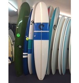 WRV WRV Performance Longboard 9'4 Single Fin with Side Bites Futures