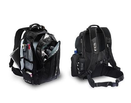 FCS FCS Mission Backpack Black Luggage Surfing