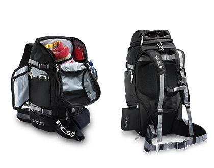 FCS FCS Trekker Backpack Black Luggage Surfing