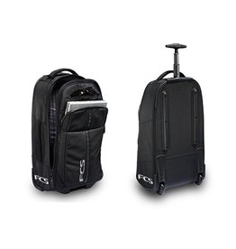 FCS FCS Transfer Wheel-on Luggage Black Surfing