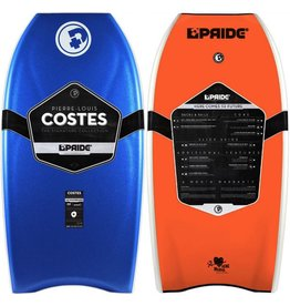 "Pride Bodyboards Pride Bodyboards Heartbreaker LTD 2014 42"" Royal Blue / Fluro Orange Deck Contour Pierre-Louis Costes Collection"