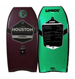 "Pride Bodyboards Pride Bodyboards The Houston LTD 2014 42"" burgundy / Emerald Green Jared Houston Collection"