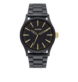 Nixon Nixon Sentry 38 SS Matte Black / Gold Watch