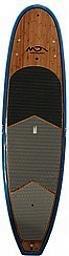 """Dolsey Dolsey 10'8"""" PCG Bamboo Dark Blue Carbon Fiber SUP"""