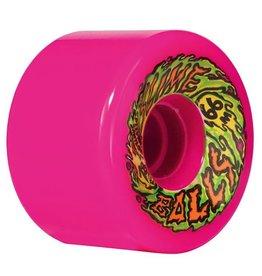Santa Cruz Santa Cruz Slime Balls 66mm Pink 78a 66s Skateboard Wheels