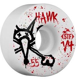 Bones Wheels BONES WHEELS STF Pro Hawk Team Vato Op 55mm Wheels 4pk