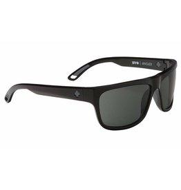 Spy Optic Spy Angler Sunglasses Black Frame Happy Grey Green Polarized Lens New 673237038864