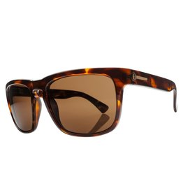 Electric Visual Electric Knoxville Tortoise Shell Frame Melanin Bronze Polarized Level 1 Sunglasses