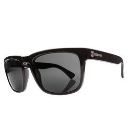 Electric Visual Electric Knoxville Gloss Black Frame Melanin Grey Polarized Level 1 Lens Sunglasses