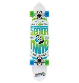 Skate Sector 9 Wedge Complete Skateboard White