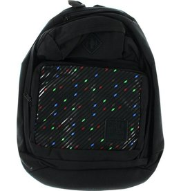 Skate Girl Simple OG's Print Backpack Black