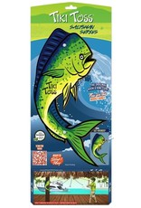 Mellow Militia Tiki Toss Saltsman Series Mahi Hook & Ring Game