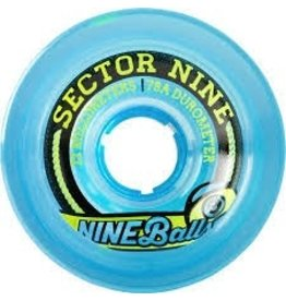 Skate Sector 9 Top Shelf 72mm 78a Blue Wheel Set