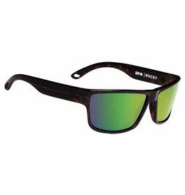 Spy Optic Spy Rocky Sunglasses Classic Tort Frame Happy Bronze w/ Green Spectra