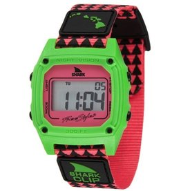 Freestyle Freestyle Shark Clip Hawaii Pink/Green Watch