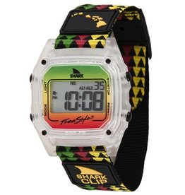 Freestyle Freestyle Shark Clip Hawaii Green/Yellow Watch