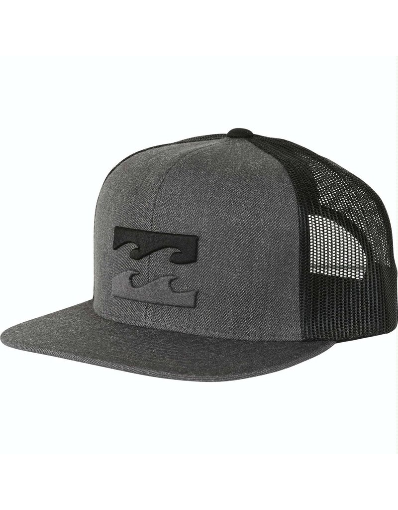 Billabong Billabong All Day Trucker Hat Black Heather