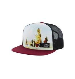 Billabong Billabong White Mike Dinosaur Carnivorous Trucker Hat