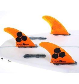 FCS FCS II AM PC Tri Set Thruster Surfboard Fins Medium Al Merrick