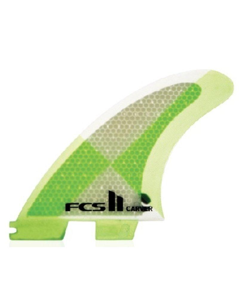 FCS FCS II Carver PC Tri Set Medium Thruster Surfboard Fins