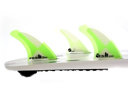 FCS FCS II Carver PC Tri Set Medium Thruster Surfboard Fins
