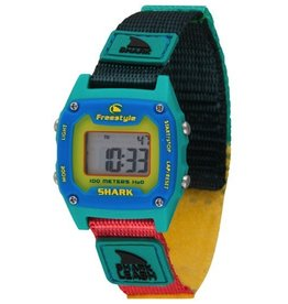 Freestyle Freestyle Shark Leash Mini Green/Yellow/Blue Watch