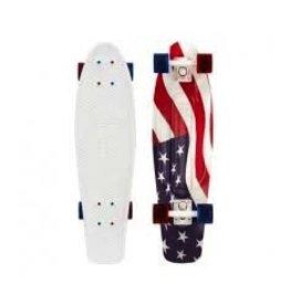 "Skate Penny 22"" Skateboard Complete U.S.A. Flag"