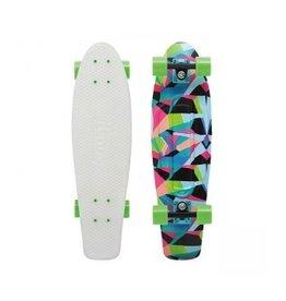 "Skate Nickel 27"" Skateboard Complete Slater Glow"