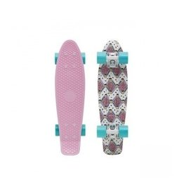 "Skate Penny 22"" Skateboard Complete Buffy Pink"