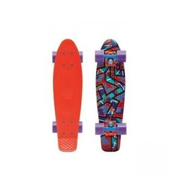 "Skate Penny 22"" Skateboard Complete Spike Orange"