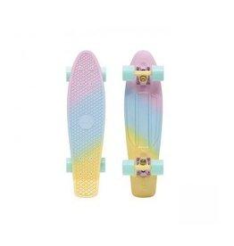"Skate Penny 22"" Skateboard Complete Candy Fade Pink/Blue/Lemon"