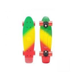 """Skate Penny 22"""" Skateboard Complete Jammin Fade"""