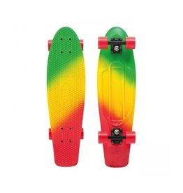 """Skate Nickel 27"""" Skateboard Complete Jammin Fade"""