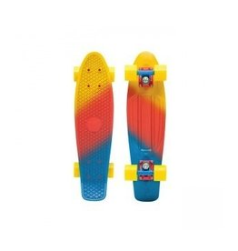 "Skate Penny 22"" Skateboard Complete Canary Fade Yellow/Red/Blue"