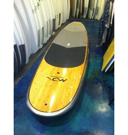 "Dolsey Dolsey 10'8"" PCG Bamboo Silver Carbon Fiber SUP"