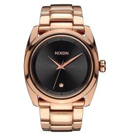 Nixon Nixon Queenpin Watch All Rose Gold / Gunmetal Womens