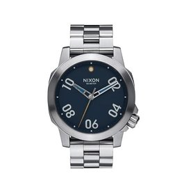 Nixon Nixon Ranger 40 Watch Navy / Brass Mens