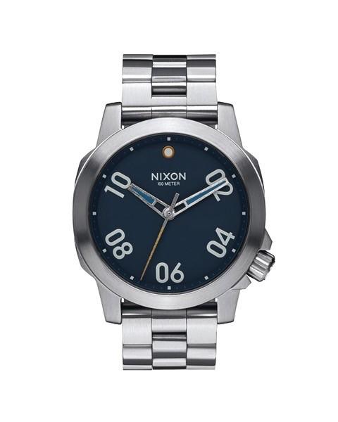 Nixon Nixon Ranger 40 Watch Navy / Brass Mens
