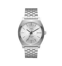 Nixon Nixon Time Teller All Silver / Stamped