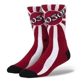 Stance Stance Hosoi Socks Red Christian Hosoi Skate Legends Collection