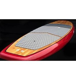 "Dolsey Dolsey 10'8"" PCG Bamboo w/ Real Red Carbon Fiber SUP"