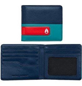 Nixon Nixon Showoff Bi-Fold Wallet Navy / Seafoam