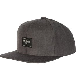 Billabong Billabong Primary Snapback Hat  Black Heather